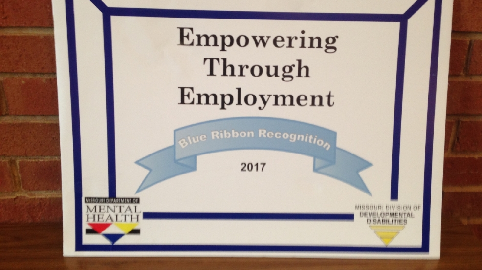 Missouri Department of Mental Health awards Kirksville region Blue