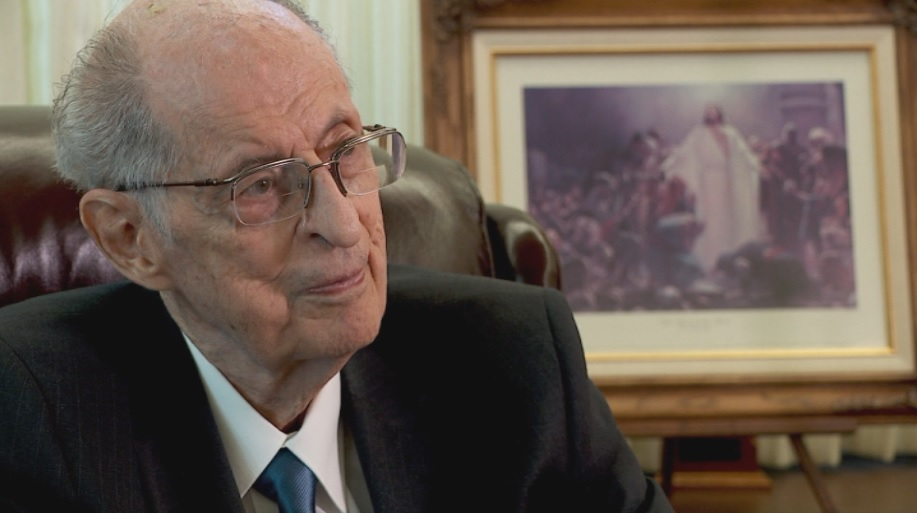 Elder Robert D. Hales of the Quorum of the Twelve Apostles (Photo: KUTV)