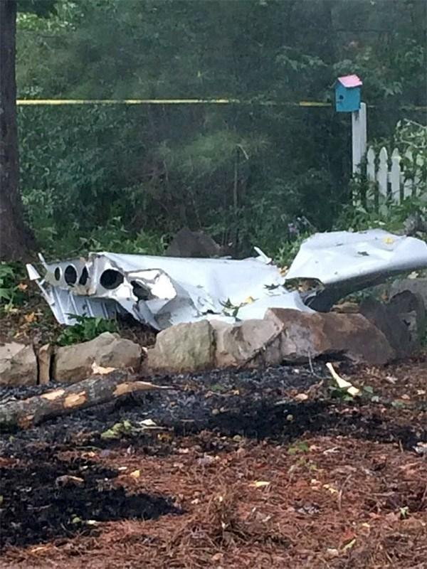 Small plane crash in Helena, Alabama, Thursday, July 31, 2014.