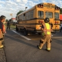 No injuries reported after school bus involved in crash in north Tulsa