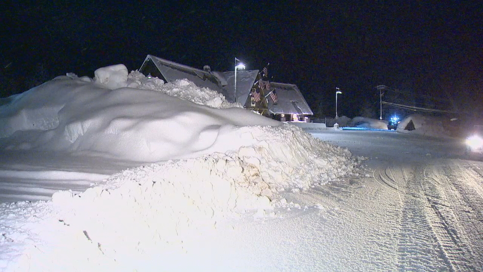 Feet Of Snow Sit Accumulated On The Grounds At Snoqualmie Pass KOMO Photo