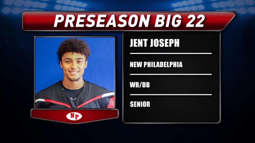Preseason Big 22 Profile - Jent Joseph, New Philadelphia Quakers
