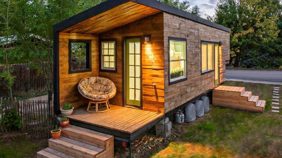 Think you want a tiny house Businesses offer a tryout first WJLA