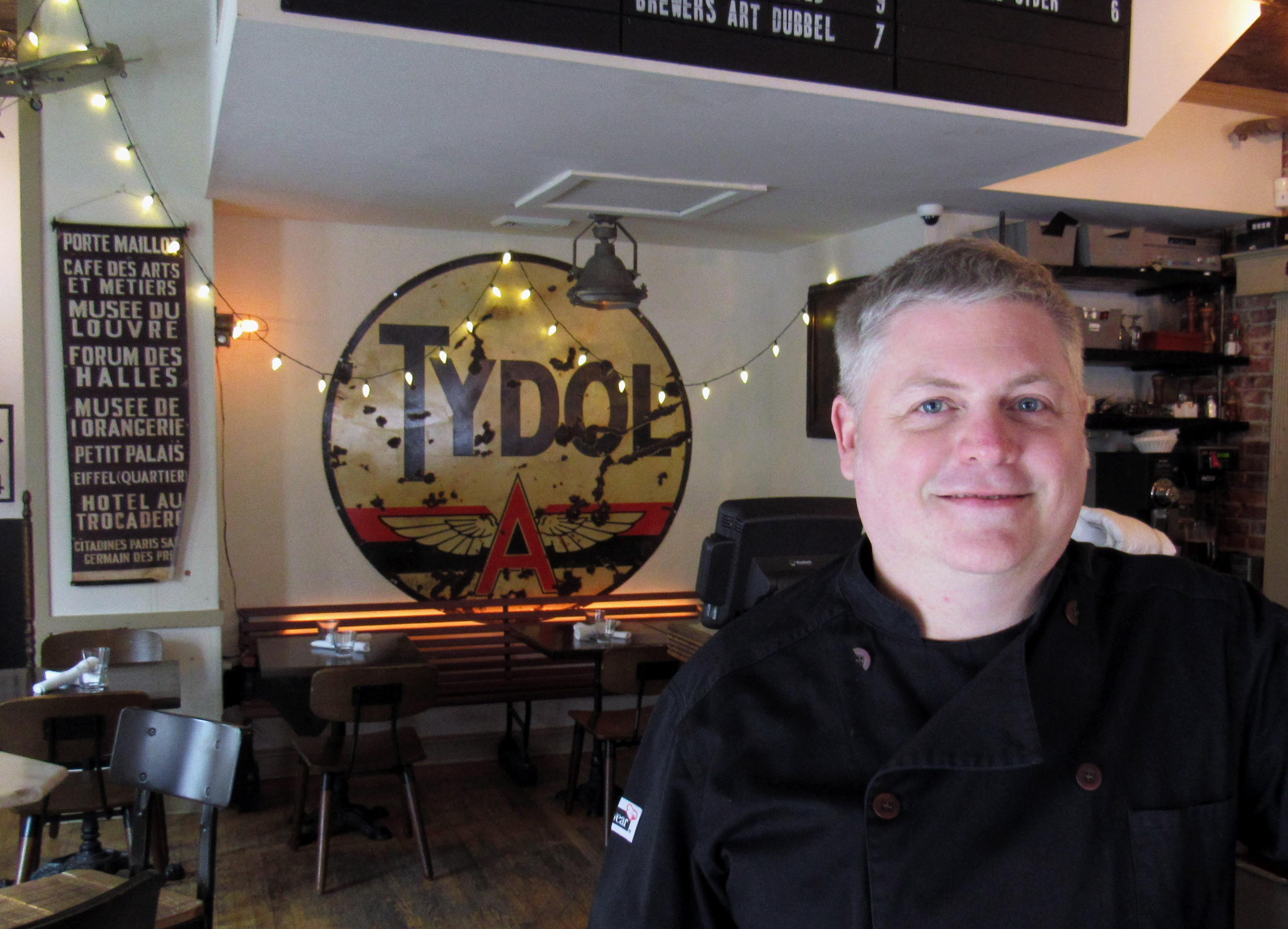 Cafe St. Ex has welcomed in Executive Chef Joel Hatton, just in time to revamp the menu for its 15th anniversary. (Image: Courtesy Cafe Saint Ex)