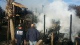 At least two homes destroyed after fire on Pawleys Island