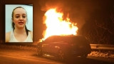 Victim of fiery North Kingstown crash says she's suffering nightmares