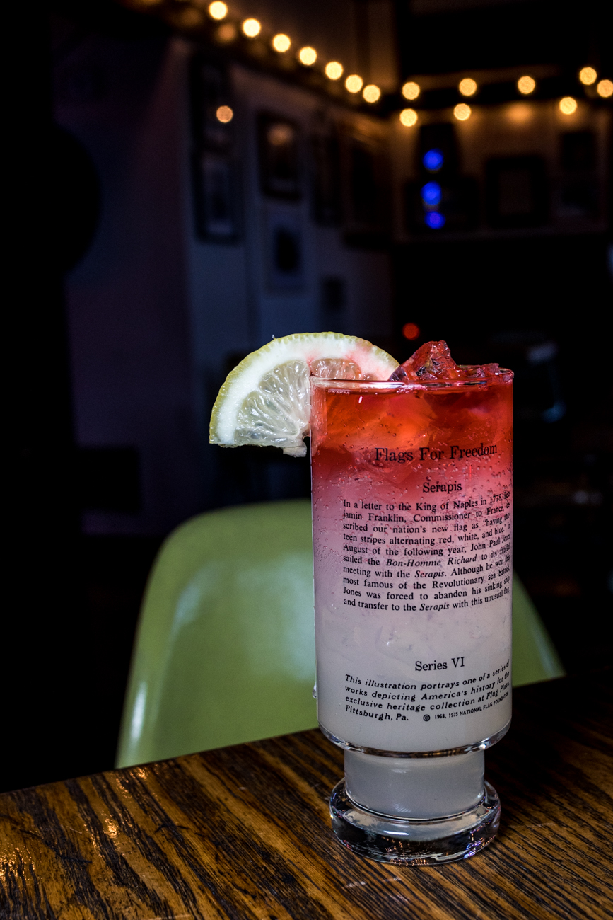 Larry Collins: Bombay Gin, lemon, simple syrup, bitters, and soda / Image: Catherine Viox{ }// Published: 2.13.20