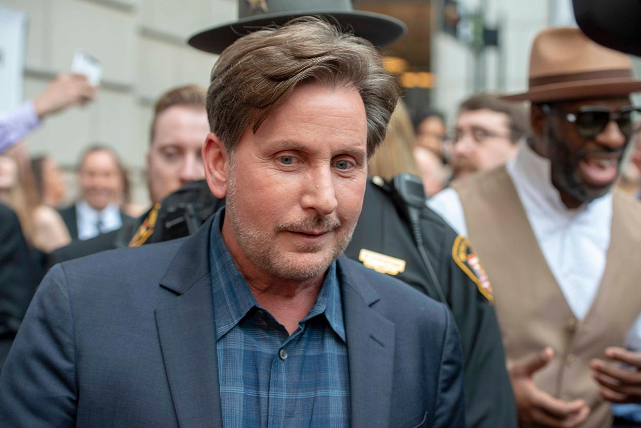 'The Public' Writer/Director/Lead Actor, Emilio Estevez{ }/ Image: Joe Simon // Published: 3.30.19