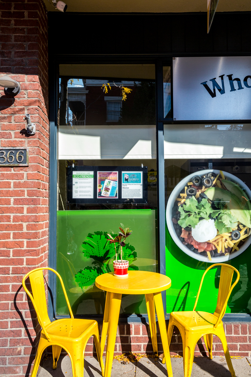 PLACE: The Whole Bowl / ADDRESS: 364 Ludlow Avenue (Clifton) / If you're looking for a healthy option, stop by The Whole Bowl window on Ludlow Avenue for lunch or dinner. Delight in one of their vegetarian bowls filled with toppings of your choosing. They also have outdoor seating available. / Image: Catherine Viox // Published: 11.12.19