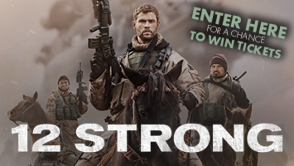 12 Strong Movie Ticket Giveaway