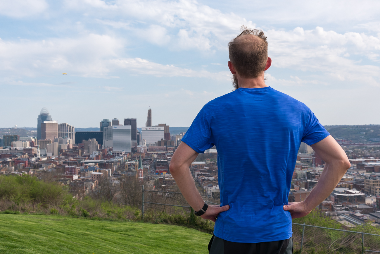 Helpful tips for running the Flying Pig Marathon from seasoned marathoner and Cincy-native, Josh Valentine. / Image: Phil Armstrong, Cincinnati Refined // Published: 4.26.18