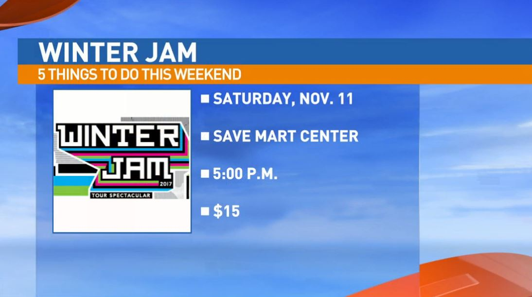 Winter Jam is SUNDAY not Saturday at the Save Mart Center