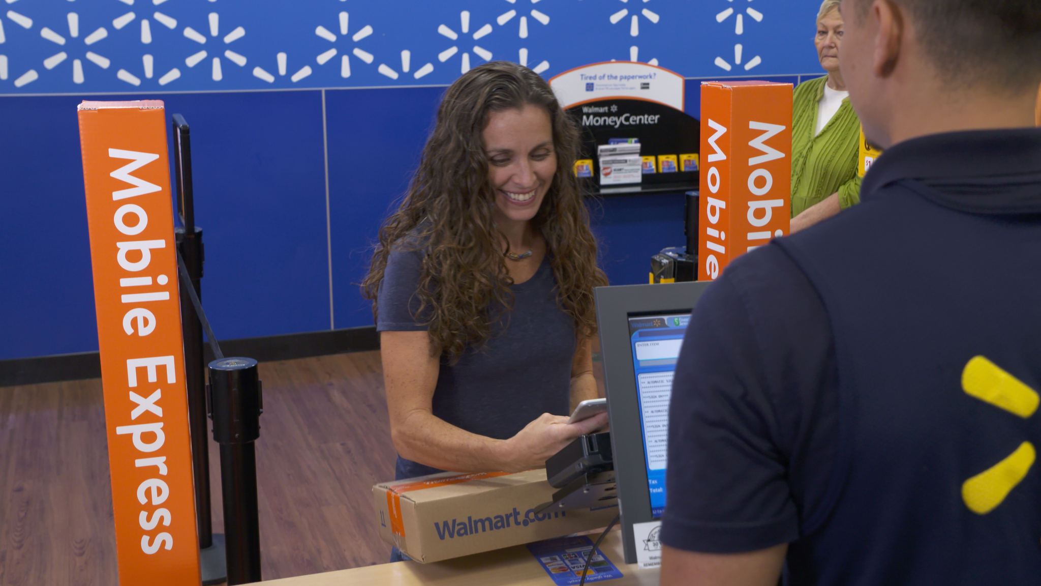 Walmart is making new moves to speed up the return process for online purchases. (Walmart)