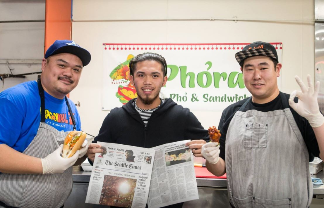 Phorale is tucked inside a convenience store in South Park (Image: Ken Tran)