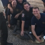 Alligator wrangled in downtown Mobile
