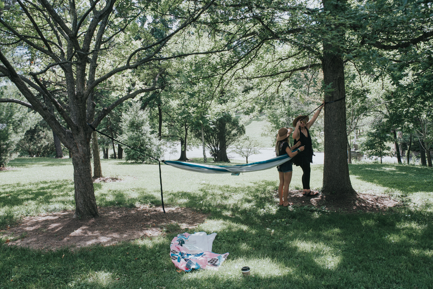 Find two sturdy trees, throw up your hammock, and chill with a book or a nap. The choice is yours. / Location: Eden Park / Address: 950 Eden Park Dr (45202) / Image: Brianna Long // Published: 6.14.17