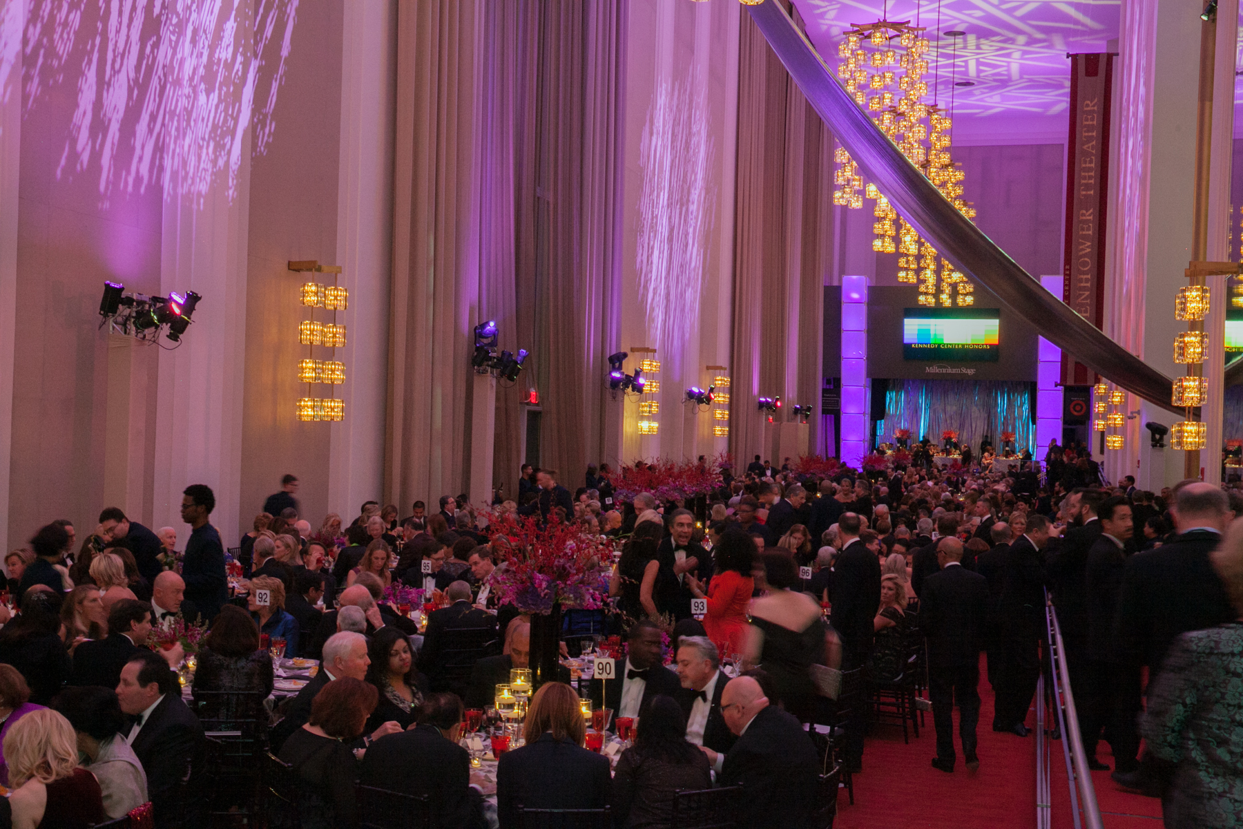 Grand Foyer Kennedy Center : The kennedy center has announced honorees dc