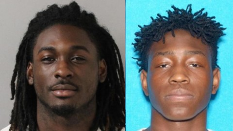 Raushan Hasan, left, is charged in the murder of Christian Lewis, right. (Metro Police)