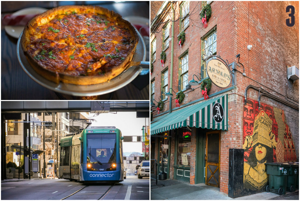#3 - This week, we learned that the best way to experience the Queen City's favorite foods is on a streetcar foodie tour. / Image: Phil Armstrong, Cincinnati Refined