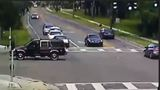 VIDEO: Woman falls from moving SUV in Tampa