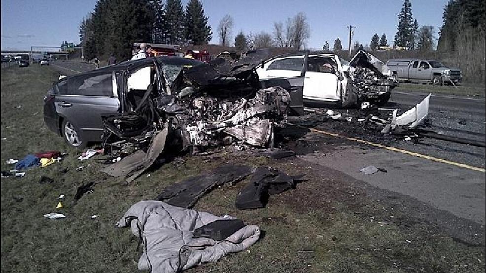 Wrong-way crash kills child, injures 3 on I-5 NB north of Vancouver
