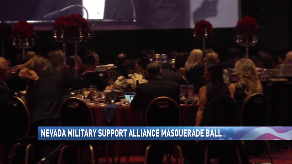 Masquerade Ball At Peppermill In Reno Supports Nevada Military Alliance