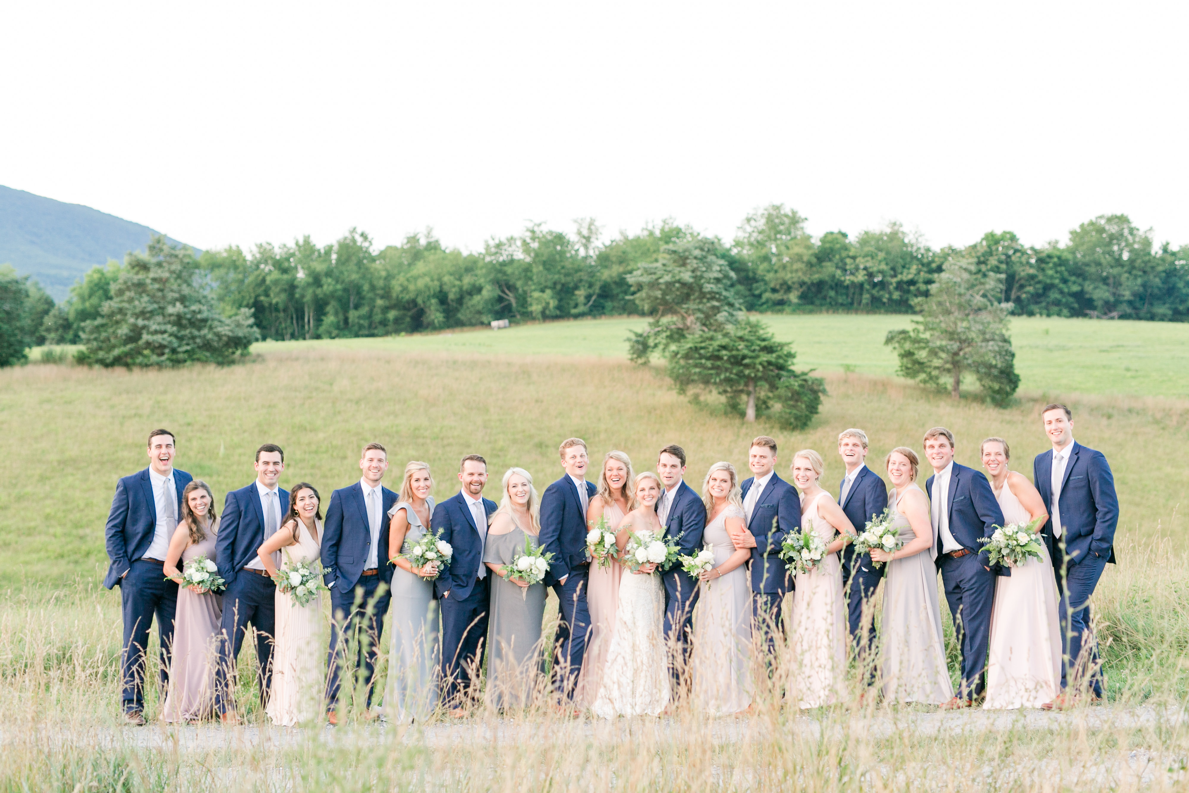 John and Kaylee's beautiful Big Spring Farm Wedding // Photographer: Katelyn James Photography // Flowers: Carbon & Salt // Venue: Big Spring Farm in Lexington, Va // (Katelyn James Photography)