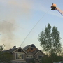 Fire rips through Sammamish home