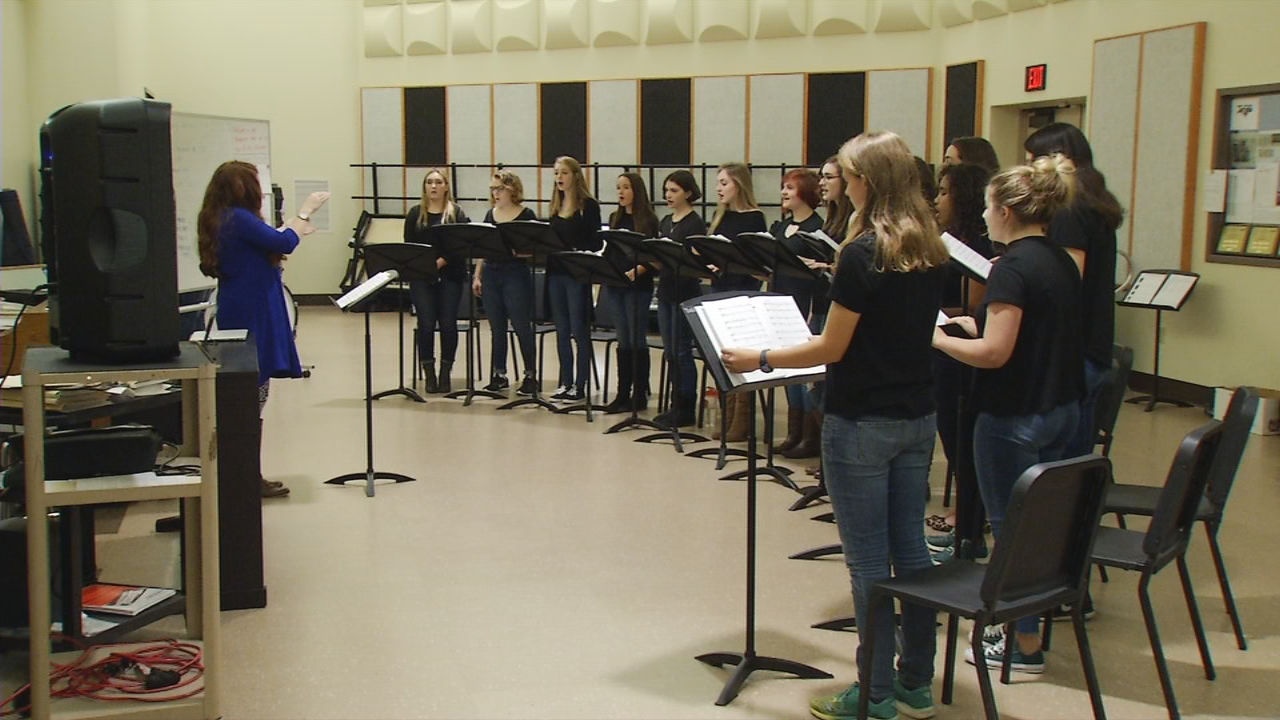 The Wells High School A Cappella Chorus was chosen to perform in New York City with the stars of &quot;Pitch Perfect&quot; next year. Meanwhile, three other students are preparing to perform in the Macy's Thanksgiving Day Parade, and one will perform during halftime of the Buffalo Wild Wings Citrus Bowl on New Year's Day (WGME).<p></p>