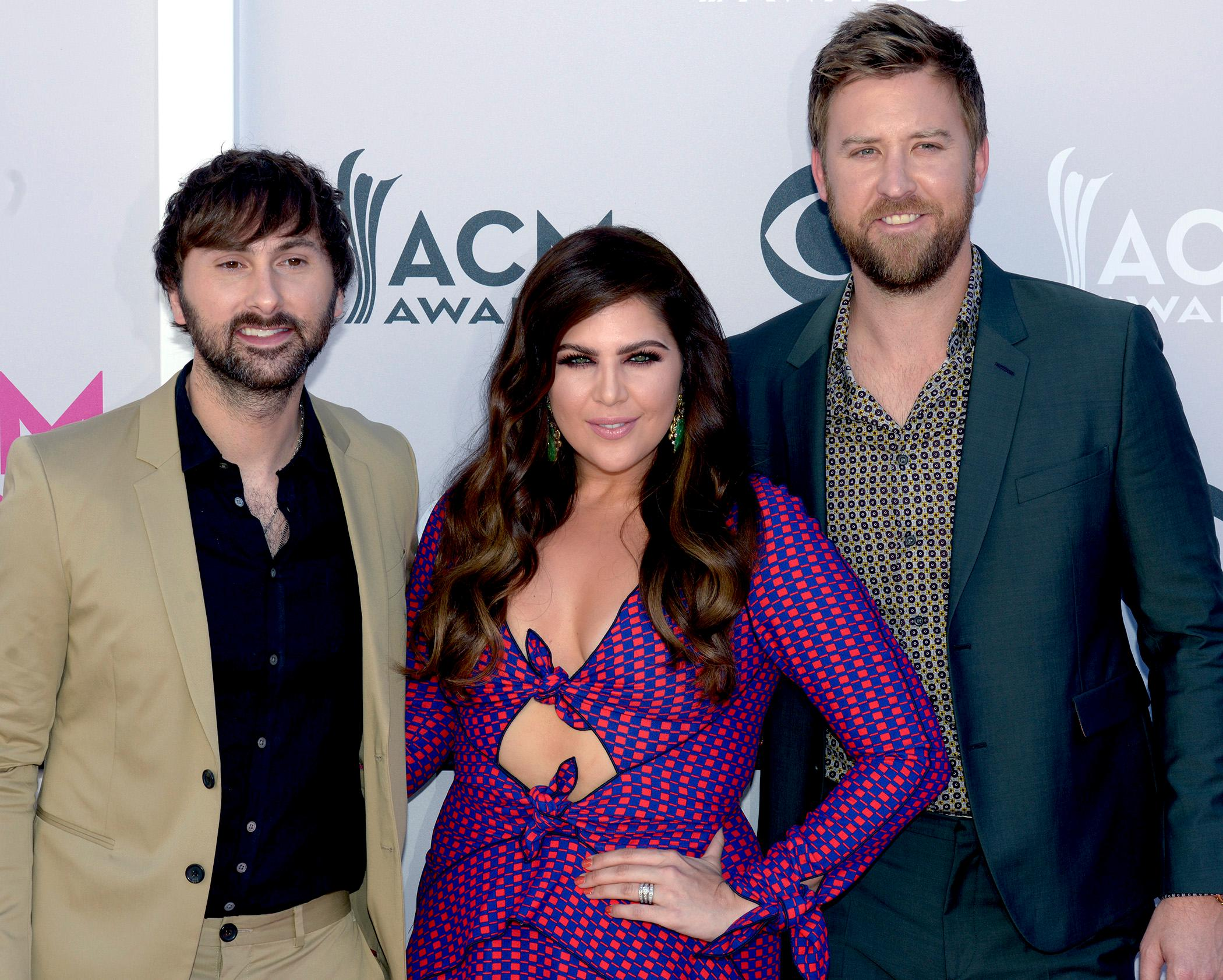 Lady Antebellum at the Academy of Country Music Awards red carpet at T-Mobile Arena. Sunday, April 2, 2017. (Glenn Pinkerton/ Las Vegas News Bureau)
