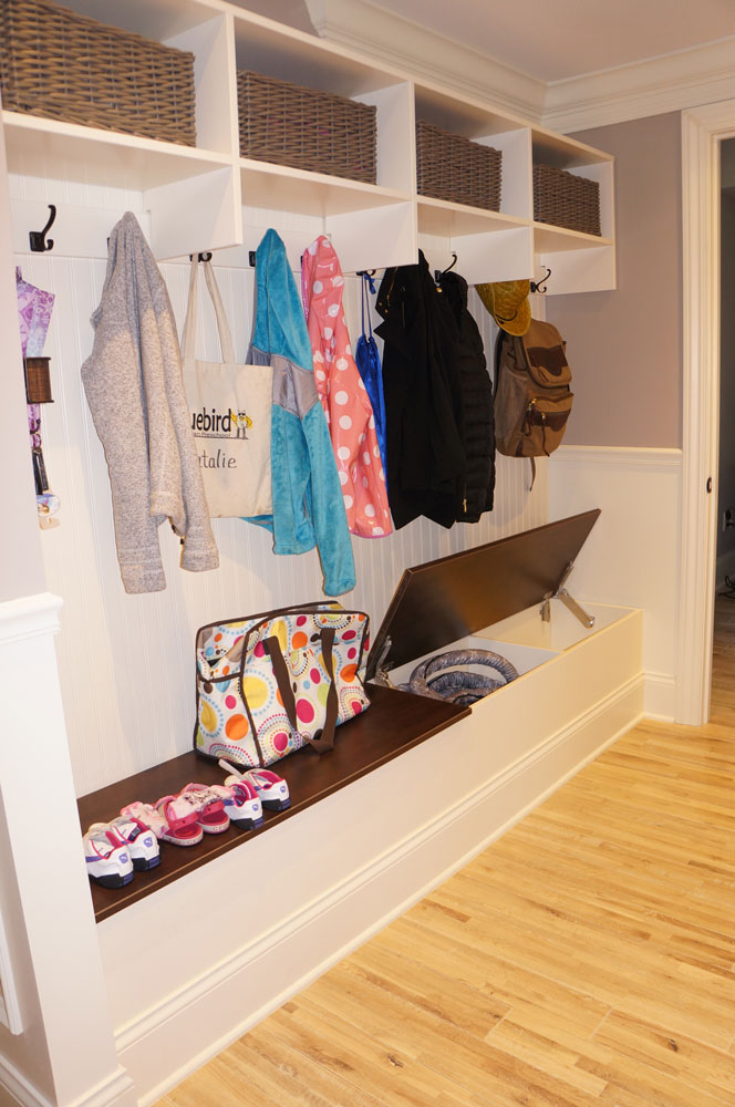 A look at one of closets s completed projects image provided by closets