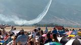 Hundreds of thousands of people flock to Hill Air Force Base to witness show