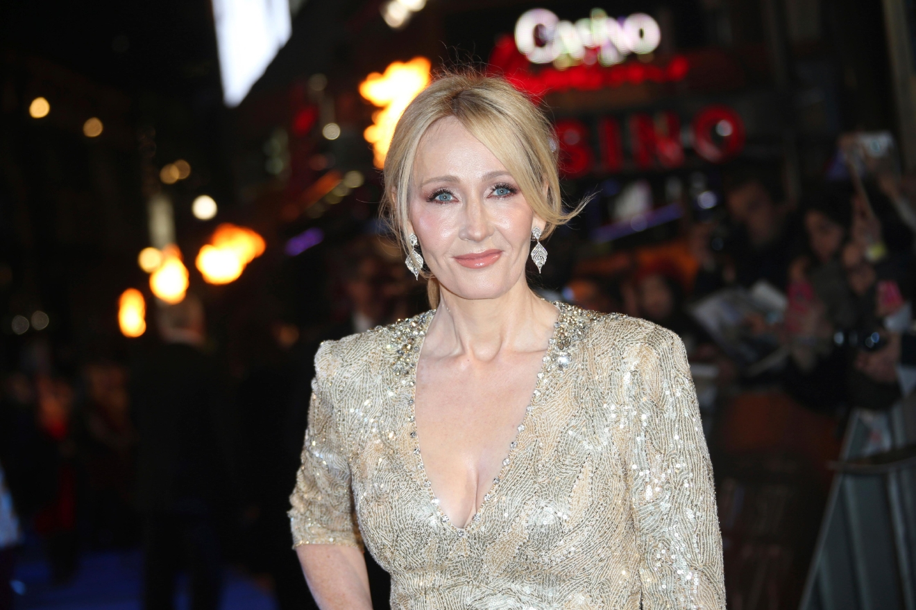 Author J.K. Rowling poses for photographers upon arrival at the premiere of the film 'Fantastic Beasts And Where To Find Them' in London, Tuesday, Nov. 15, 2016. (Photo by Joel Ryan/Invision/AP)