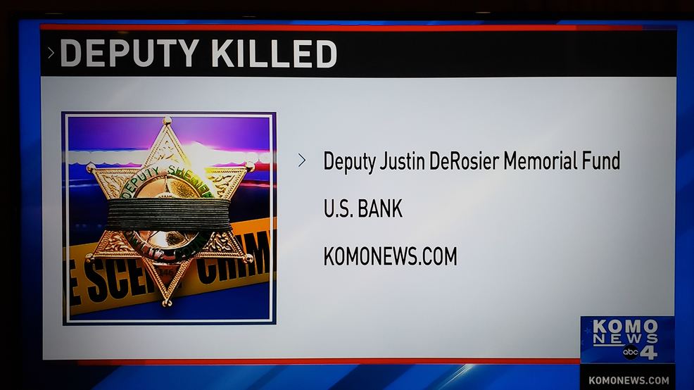 Memorial Fund created for slain Cowlitz County deputy