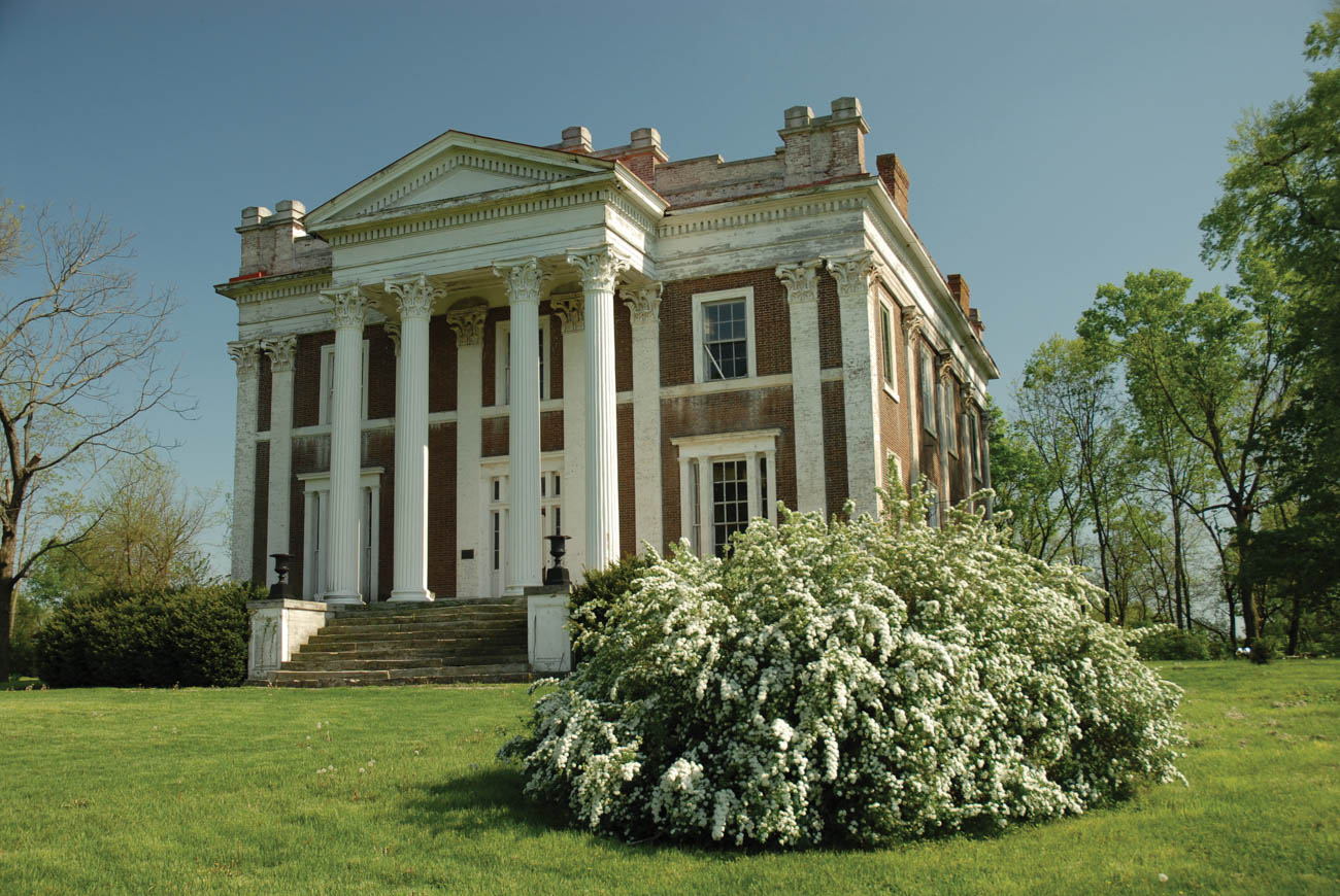 Ward Hall is a beautiful, Greek Revival-style mansion that was built in the mid-1800s. Visitors can take candlelight tours through the villa and learn about the legendary Southern Belle, Sallie Ward, along with her four millionaire husbands and her lavish balls that she held there. Did we mention the home was purchased in gold?  / Image courtesy of Georgetown/Scott County Tourism // Published: 11.1.18