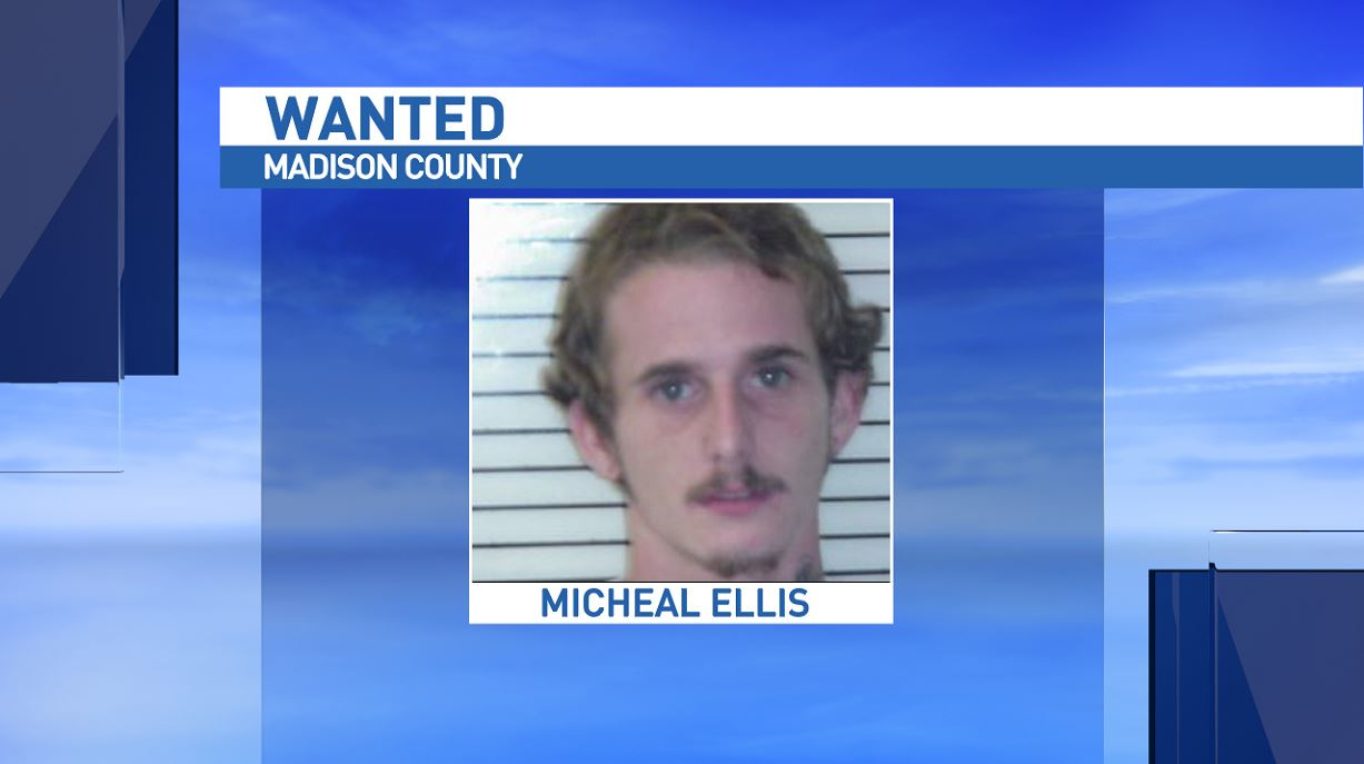 The sheriff's office is looking for Michael Ellis, who's wanted in a breaking and entering case at Forks of Ivy Baptist Church. (Photo credit: Madison County Sheriff's Office)