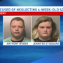 Iowa parents accused of injuring, neglecting 6-week-old baby