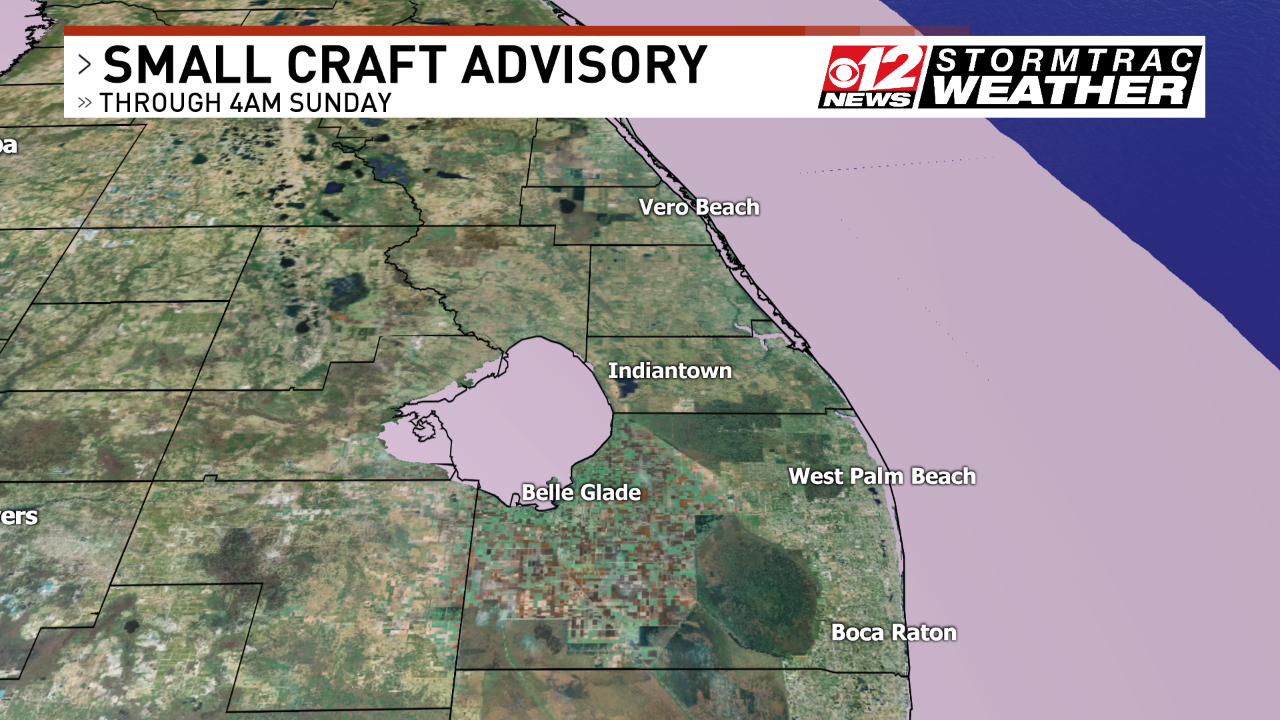 Small Craft Advisory. (WPEC)