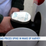 Local gas prices spike after Harvey and ahead of Labor Day weekend