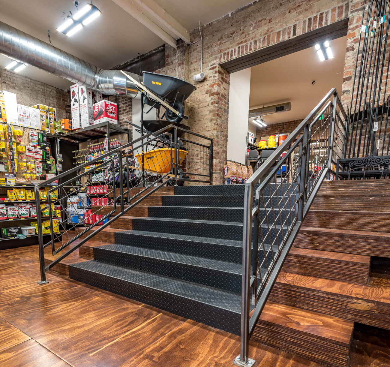 Woods Hardware is a seamless blend of a historic Cincinnati property with a one-stop hardware shop. Hub+Weber Architects PLC redesigned the building while keeping many of its original features intact. The store offers a variety of products from home improvement necessities to everyday items. ADDRESS: 125 E. Ninth Street, Cincinnati, OH 45202 / Image courtesy of Hub+Weber Architects PLC (via Phil Armstrong) // Published: 2.10.17