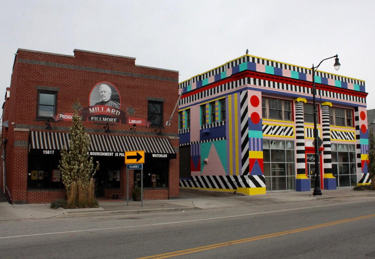 "The Waterloo Arts District is a half-mile stretch of Waterloo Road in the Collinwood Community of Cleveland. Artists have embraced this community as a ""welcoming hub of creativity,"" so here you will no shortage of art galleries, music venues, and good food. ADDRESS: 15605 Waterloo Rd., Cleveland, OH 44110 / Image: Rose Brewington // Published: 11.22.17"