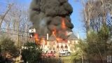 Virginia mansion destroyed by massive fire owned by Embassy of the United Arab Emirates