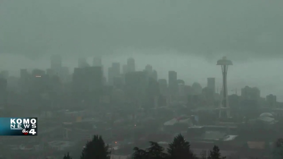 Tuesday's dreariness was 3 times darker than solar eclipse day in Seattle