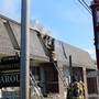 Fire in East Greenwich damages businesses
