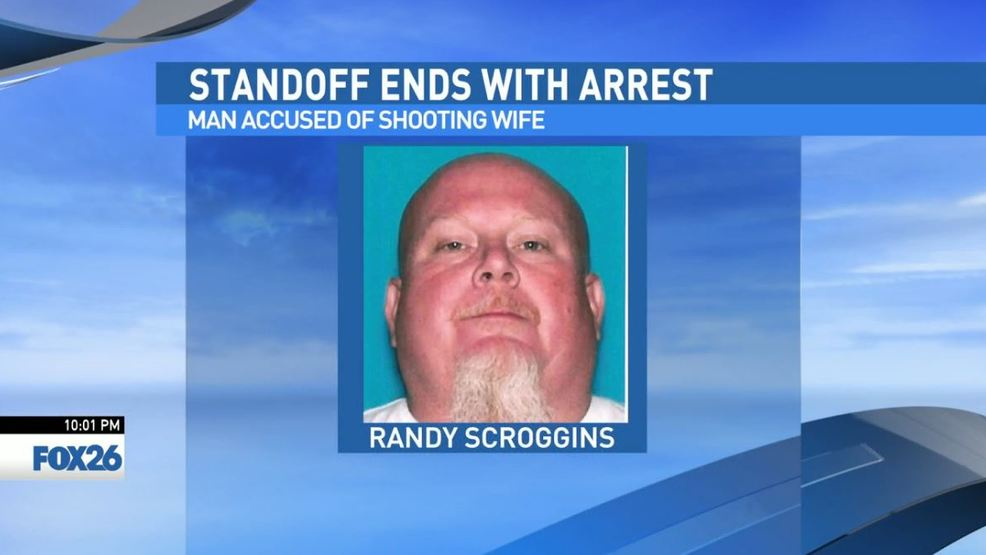 Farmersville standoff with man accused of shooting wife ends
