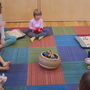 Sunday morning art and yoga--for kids