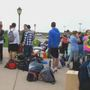Students return after week-long hurricane relief mission trip
