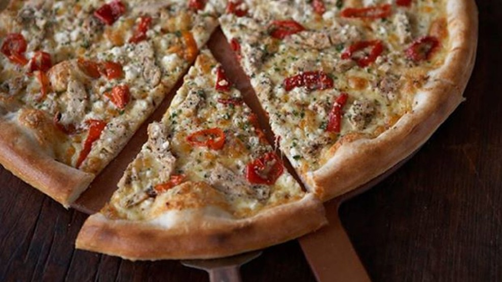 You can't live in Seattle without eating a slice from Pagliacci Pizza. The Seattle-based pizza chain, voted frequently as a Seattle favorite, serves hungry patrons traditional pizzas and seasonal favorites, like the yummy Goat Cheese Primo. (Image courtesy of Pagliacci Pizza)