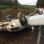 Driver cited for rural North Plains crash after turning in front of oncoming car