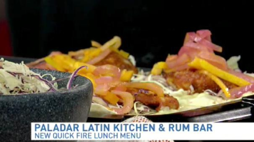 Summer Recipes: Blackened Fish Tacos At Paladar Latin Kitchen